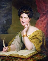 Caroline Norton by Sir George Hayter in 1832 Image courtesy: http://upload.wikimedia.org/wikipedia
