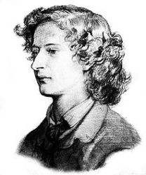 Image Courtesy: http://upload.wikimedia.org Sketch of Swinburne at age 23 by Dante Gabriel Rossetti