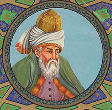 Jalal ad-Dīn Muhammad Rumi Image Courtesy: http://en.wikipedia.org/wiki/Rumi